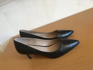 Firenze High-Front Pumps black leather