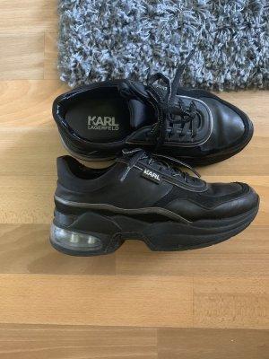 Karl Lagerfeld Wedge Sneaker black