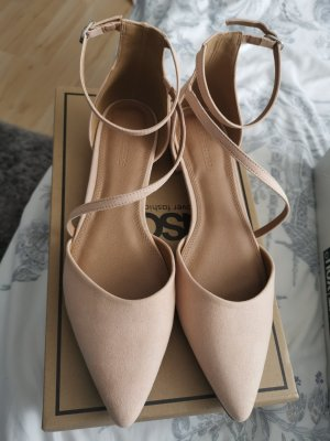 Asos Strapped pumps apricot