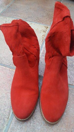 Akira Slip-on laarzen rood