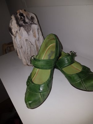 Tiggers Décolleté con fibbia verde-cachi