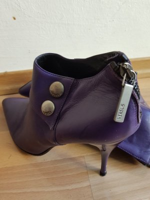 Versus Lace-up Booties lilac
