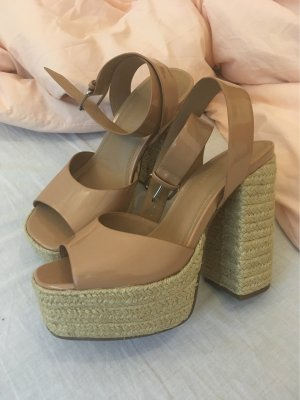 Asos High-Front Pumps nude-camel