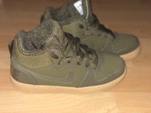 Nike Sneaker alta sabbia-cachi
