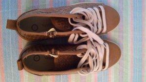 Yessica Lage schoenen brons