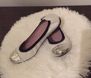 Pretty ballerinas Foldable Ballet Flats multicolored leather