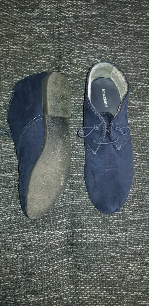 Slip-on Booties dark blue