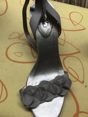 Spm Sandalias de tiras gris claro