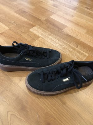 Puma Lace Shoes black-cream