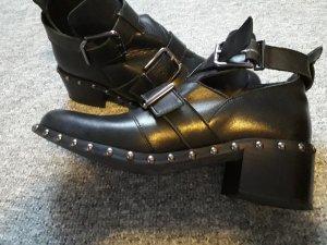 Éram Ankle Boots black imitation leather