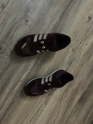 Adidas Originals High Top Sneaker bordeaux