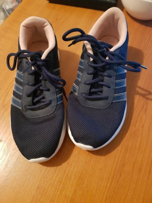 Adidas NEO Zapatillas con tacón azul oscuro-rosa claro tejido mezclado