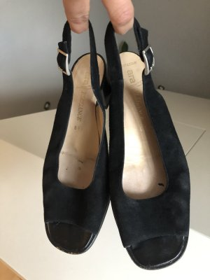 ara Slingback Pumps black