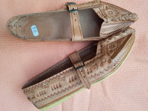 Schuhe aus echtes Leder