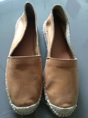 Schuhe aus Glattleder  braun Größe 41 NEU