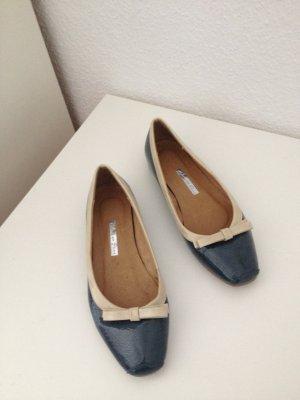 Schuhe Ballerinas Lack blau/ Türkis Gröss 40
