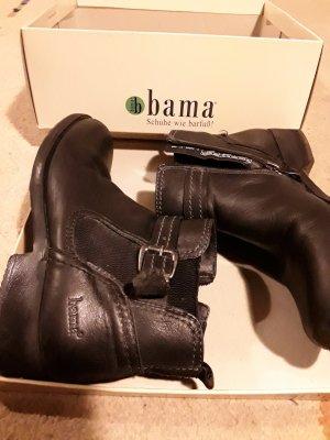 Bama Enkellaarzen zwart