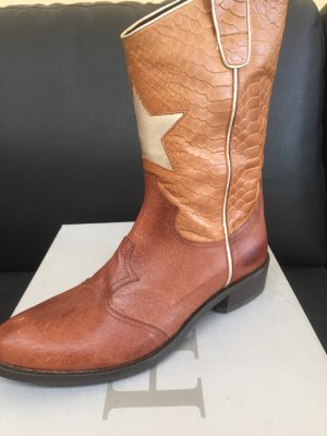 Hip Shoe Style Boots western multicolore