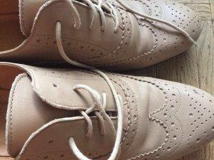 Bagatt Chaussures à lacets beige