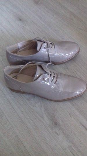 Schuhe,beige,lack, gr.40
