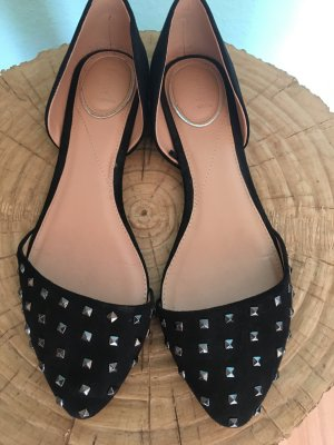 Bershka High-Heeled Sandals black