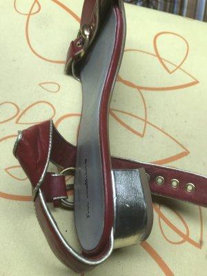 Sandalias romanas rojo