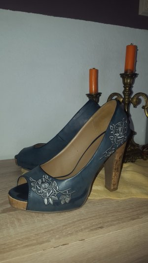 Schuhe Blau Gr.36