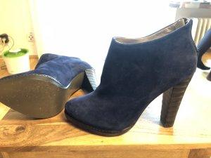 Schuhe blau High Heels / Ankle Boots Studio Pollini 36