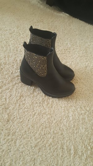 Schuhe Boots schwarz