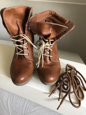 Schuhe, Boots, Stiefeletten, wie neu