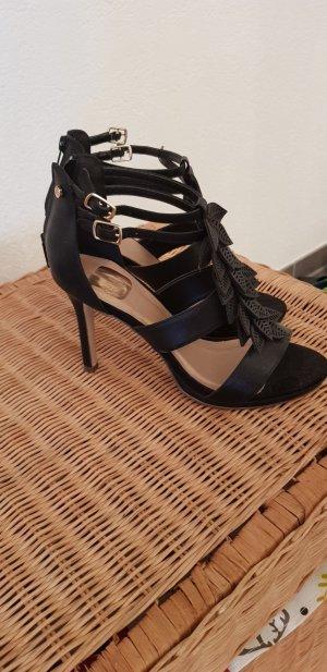Bullboxer High-Heeled Sandals black