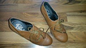 Schuhe by Blink in Farbe Cognac