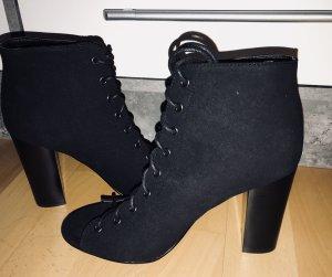 Sandalias de tiras negro