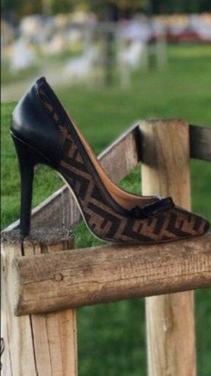 Zapatos Budapest marrón-negro