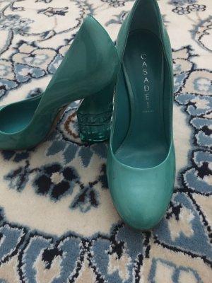 Casadei High Heels turquoise