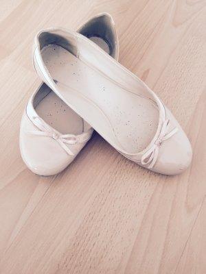 Schuhe/cremefarbene Ballerinas