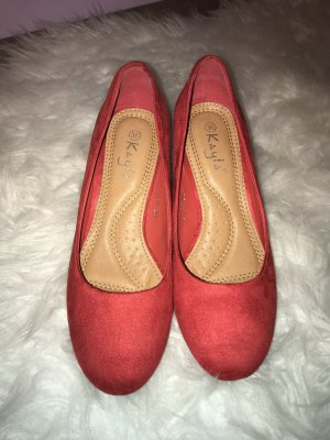 Kayla Slingback Pumps red
