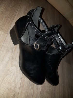 H&M Stivaletto cut out nero
