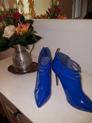 Belle Women Tacones altos azul acero