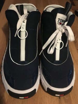 Tommy Hilfiger Sneaker alta blu scuro
