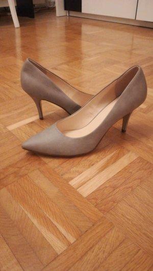 Graceland Heel Pantolettes grey brown