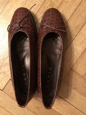 "Schuhe ,echt Leder ""Lario"" ...wie Neu"