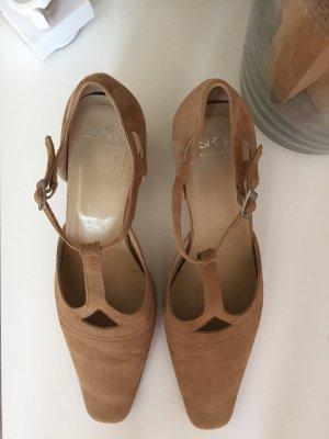 Schuhe Esprit Leder Gr. 39 Mary Jane