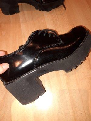 Catwalk Botte à plateforme noir