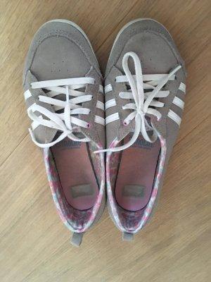 Adidas NEO Sneaker stringata grigio-bianco