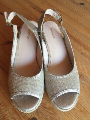 Schuhe Glitzer Größe 39 2x getragen
