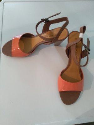 Marco Tozzi High-Heeled Sandals multicolored imitation leather