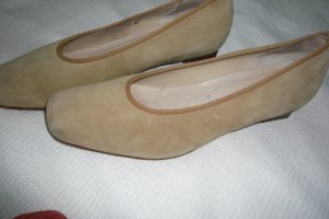 Hassia Pumps camel leather
