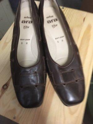 ara Sandalo con tacco marrone scuro-marrone-nero