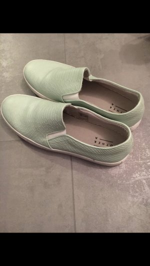 5th Avenue Slip-on Shoes mint